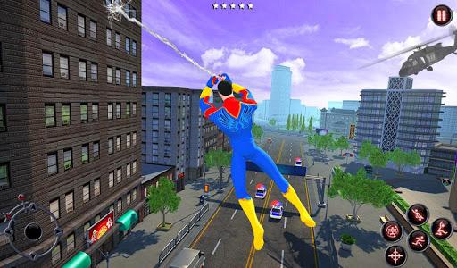 Rope Amazing Hero Crime City Simulator screenshot 5