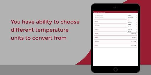 Temperature Converter - Fahrenheit to Celsius etc screenshot 7