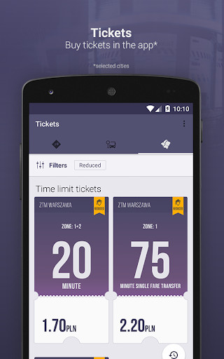 Jakdojade: public transport screenshot 2