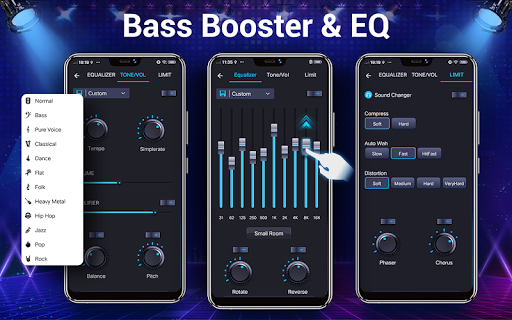 Music player - 10 bands equalizer Audio player screenshot 13