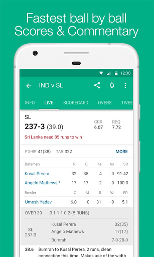 Cricbuzz - Live Cricket Scores & News स्क्रीनशॉट 3