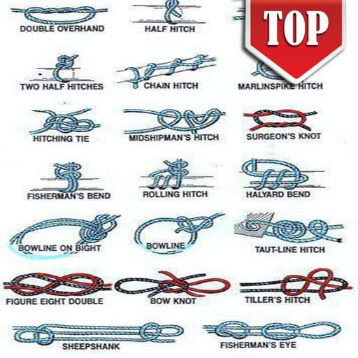 Technique Tying Rope - Knots