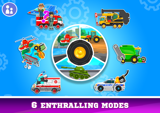 Kids Cars Games! Build a car and truck wash! screenshot 15