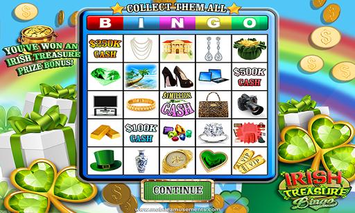 Irish Treasure Rainbow Bingo FREE screenshot 5
