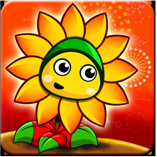 ikon Flower Zombie War