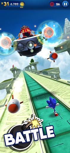 Sonic Dash - Endless Running & Racing Game स्क्रीनशॉट 3