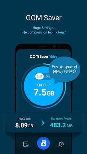 GOM Saver - Penghemat Penyimpanan Memori screenshot 1