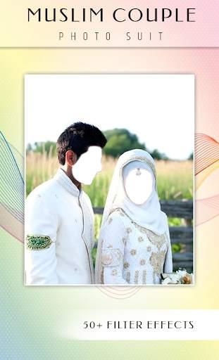 Muslim Couple Photo Suit screenshot 3