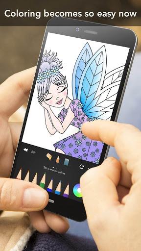 Princess coloring book screenshot 7