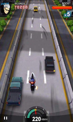 Racing Moto screenshot 1