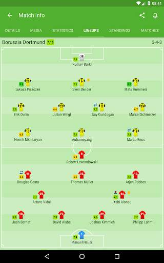 Football Scores and Sports Livescore - SofaScore screenshot 9