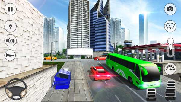 City Coach Bus Simulator 2018 screenshot 8