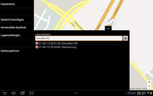 Mobile-Lagekarte screenshot 4