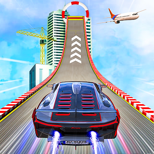 Impossible Track Car Driving Games: Ramp Car Stunt icon