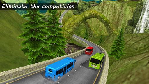 Bus Racing : Coach Bus Simulator 2021 स्क्रीनशॉट 2