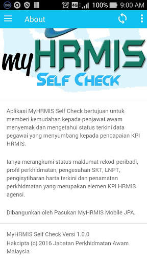 MyHRMIS Self Check screenshot 6