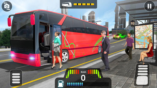 City Coach Bus Simulator 2021 - PvP Free Bus Games screenshot 5