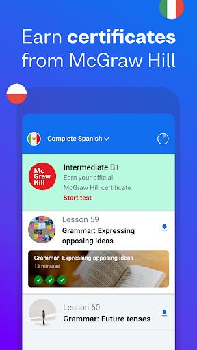 Busuu - Learn Languages - Spanish, Japanese & More screenshot 8