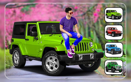 New Jeep Photo Editor - Photo Frames 3 تصوير الشاشة