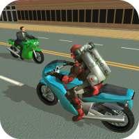 Jetpack Hero Miami Crime on APKTom