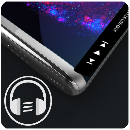 Galaxy S10/S20/Note 20 Edge Music Player أيقونة