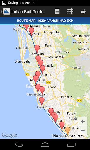 Indian Rail Guide screenshot 6