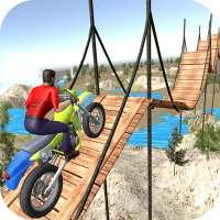 nieuwe Motorfiets stunt spoor 3D - TKN Spellen on APKTom