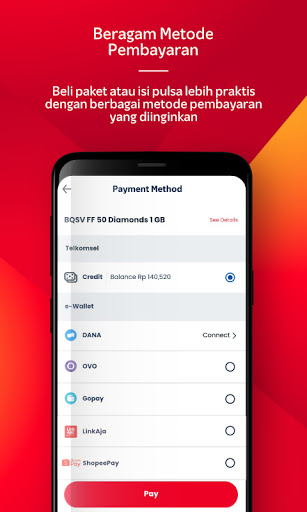 MyTelkomsel - Beli Pulsa/Paket & dapat kuota 7.5GB screenshot 7