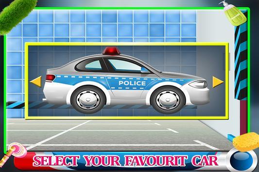 Messy Police Car Wash Salon screenshot 4