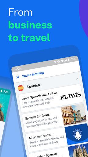Busuu: เรียนภาษา - อังกฤษ สเปนและอีกมากมาย screenshot 2
