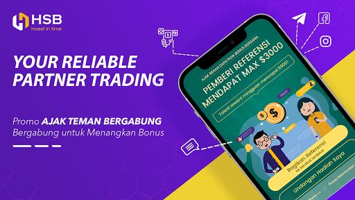 HSB Investasi-Trade forex, logam mulia, Oil, Saham screenshot 1