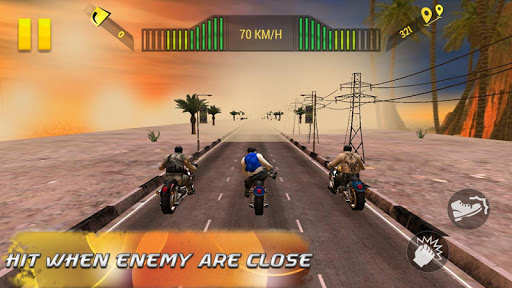 Moto Attack 3D Bike Race 2016 screenshot 6