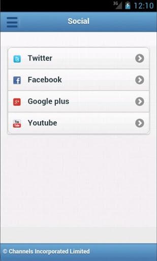 ChannelsTV Mobile for Androids 6 تصوير الشاشة