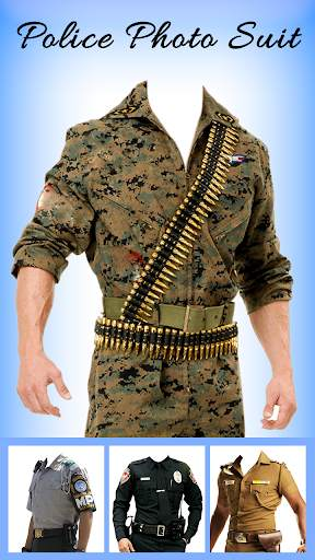 Men Police suit Photo Editor - Police Dresses screenshot 3