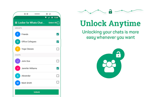 Locker for Whats Chat App - Secure Private Chat स्क्रीनशॉट 11
