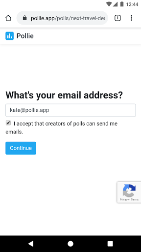 Pollie: Create Polls screenshot 6