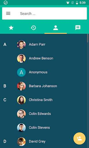 زويبر VOIP  الهاتف الرقمي 4 تصوير الشاشة