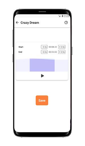 Ringtone Maker Ringtone Edit Mp3 Cut Mp3 Cutter screenshot 1