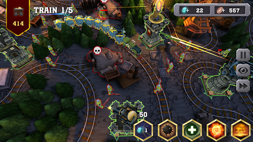 Train Tower Defense screenshot 2