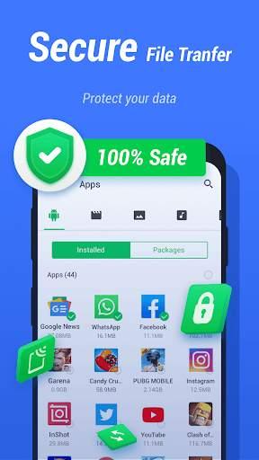 InShare - Share Apps & File Transfer screenshot 3