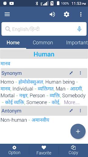 English To Hindi Dictionary screenshot 3
