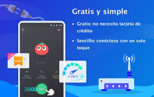 VPN Tomato gratis | Veloz proxy VPN hotspot gratis screenshot 2