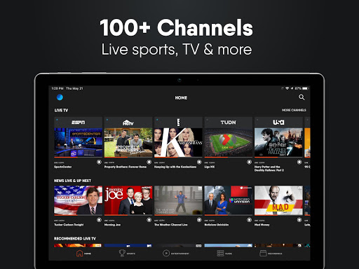 fuboTV: Watch Live Sports, TV Shows, Movies & News 9 تصوير الشاشة