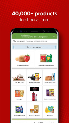 bigbasket - Online Grocery Shopping App скриншот 2