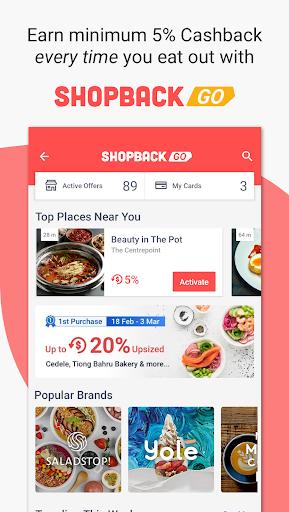 ShopBack | Cashback on Shopping & Restaurants screenshot 1