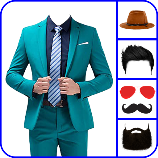 Man Suit Photo Editor and Casual Suit icon