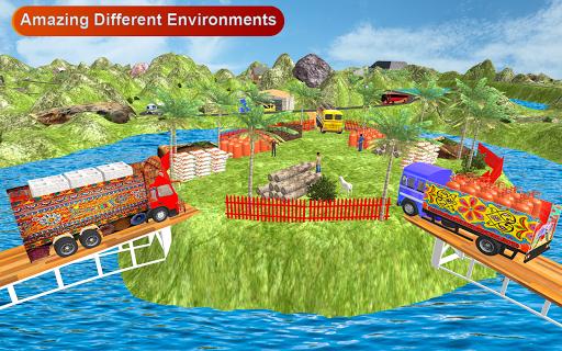 Indian Cargo Truck Driver : Truck Games screenshot 4
