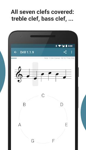 Complete Music Reading Trainer 3 تصوير الشاشة