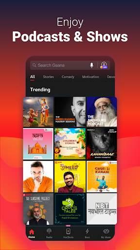 Gaana Song Hotshots Video Music Free Hindi MP3 App screenshot 4