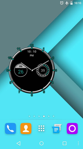 Super Clock Widget [Free] скриншот 3